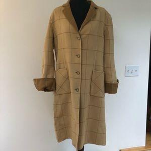 DKNY Wool/ angora coat Like New!!
